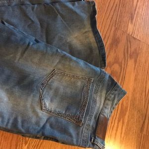 Maurices Distressed Light Wash Jeans